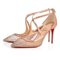 安心送料関税込! Christian Louboutin Twistissima Strass 85 mm