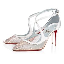 安心送料関税込! Christian Louboutin Twistissima Strass Satin