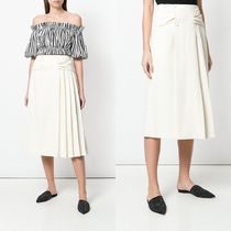 ∞∞CARVEN∞∞ pleated side skirt☆ホワイト