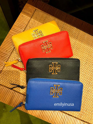 Tory Burch 長財布 新作 TORY BURCH★BRITTEN ZIP CONTINENTAL 長財布 39059