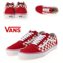 VANS(バンズ)★ 新作★OLD SKOOL★CHECK RED