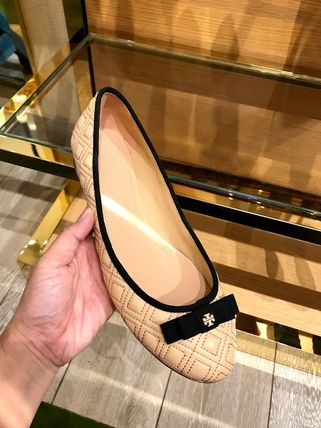 Tory Burch フラットシューズ SALE TORY BURCH★MARION QUILTED BALLET FLAT(2)