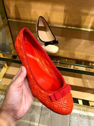 Tory Burch フラットシューズ SALE TORY BURCH★MARION QUILTED BALLET FLAT(4)