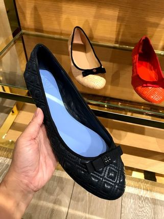 Tory Burch フラットシューズ SALE TORY BURCH★MARION QUILTED BALLET FLAT(6)