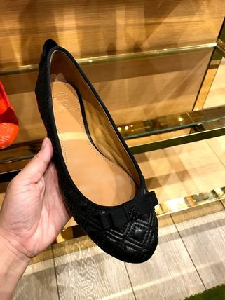 Tory Burch フラットシューズ SALE TORY BURCH★MARION QUILTED BALLET FLAT(8)