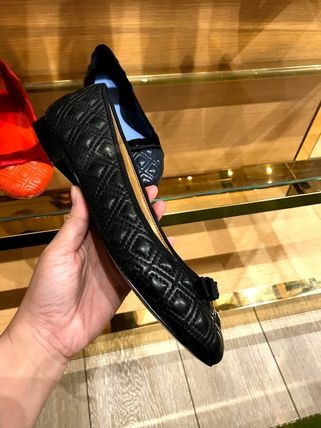 Tory Burch フラットシューズ SALE TORY BURCH★MARION QUILTED BALLET FLAT(9)