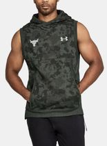 UA  Project Rock Threadborne Sleeveless Hoodie