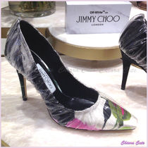 【18SS NEW】JimmyChoo C/O off-white/ANNE/花柄クリアパンプ