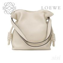 LOEWE★ロエベ Flamenco Knot Small Bag Ivory