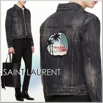 18SS★Saint Laurent デニム ジャケット WAITING FOR SUNSET