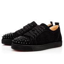 安心送料関税込!Christian Louboutin,Louis Junior Spikes Woman