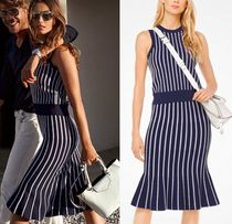 *Michael Kors*森星さん着用☆ Striped Stretch-Viscose Tank