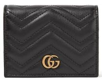 ★関税負担★GUCCI★ GG MARMONT SMALL QUILTED LEATHER WALLET