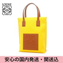 安心の国内発送・関送込【LOEWE】Canvas & Calfskin Shopper Bag