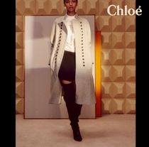 【Chloe♪2018S/S新作】EMBROIDERED BLOUSE