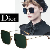 送料関税込★DIOR STELLAIRE 1S 0DDB O7 Gold/Green ディオール