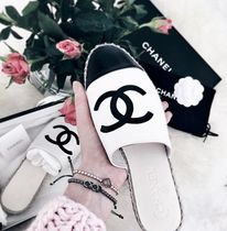 2018最新作★★CHANEL ★Espadrilles Mule in white