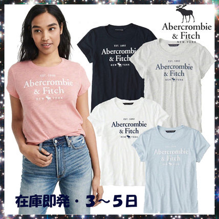 Abercrombie & Fitch★日本未入荷 ロゴTシャツ・4色★在庫即発
