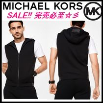 SALE★MICHAEL KORS MENS★Neopreneフード付きベスト