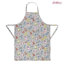 Cath Kidston☆APRON CATS LIGHT GREY