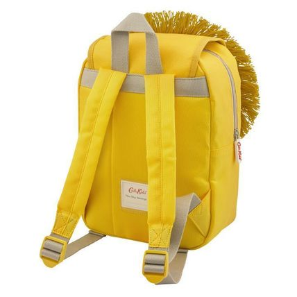 Cath Kidston 子供用リュック・バックパック Cath Kidston★KIDS LION NOVELTY BACKPACK YELLOW(2)