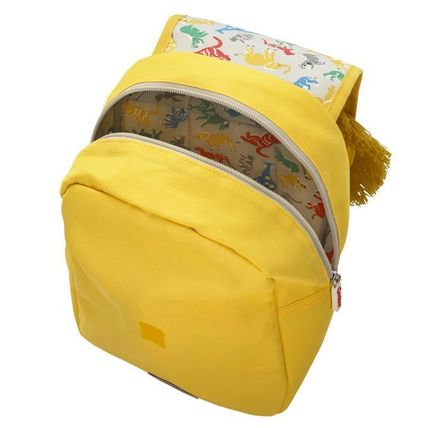 Cath Kidston 子供用リュック・バックパック Cath Kidston★KIDS LION NOVELTY BACKPACK YELLOW(3)