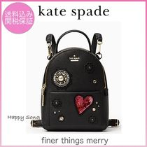 kate spade◆キラキラハート◆リュック◆finer things merry