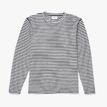 【即納】Saturdays Alek Stripe Long Sleeve T?Shirt ロンT