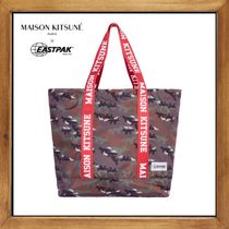★MAISON KITSUNE×Eastpak 《 FLASK TOTE BAG 》送料込み★