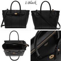 Mulberry Small Zipped Bayswater-Grain Leather全8色