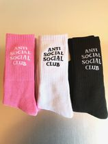 送料無料 ! ANTI SOCIAL SOCIAL CLUB Socks  / 3点SET