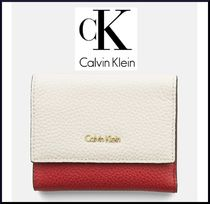 新作【Calvin Klein】LEATHER TRIFOLD ミニ財布7