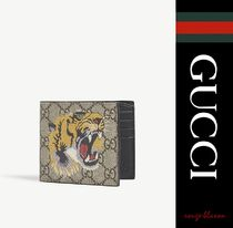 【国内発送】GUCCI 財布 Supreme bee leather billfold wallet