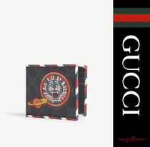 【国内発送】GUCCI 財布 GG Supreme patches wallet