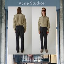 【18SS NEW】 Acne Studios_men / Ari wool trousers deep navy/