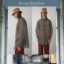 【18SS NEW】 Acne Studios_men /Atlent check rust org check /