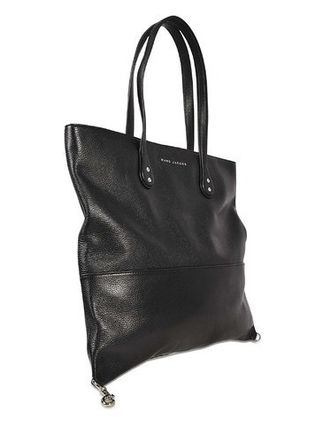 0565e1ce669f ... Marc by Marc Jacobs トートバッグ レザーバッグ Wingman ブラック ☆ Marc by Marc Jacobs(  ...