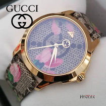 新作【GUCCI】G-Timeless Pink Blooms YA1264038  38mm