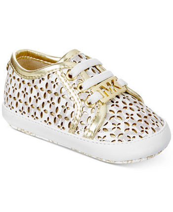 Michael Kors ベビースニーカー Michael Kors Baby Borium Perforated Sneakers