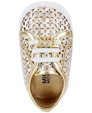 Michael Kors ベビースニーカー Michael Kors Baby Borium Perforated Sneakers(2)