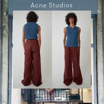 【18SS NEW】 Acne Studios_men/Granan wash li falun red/