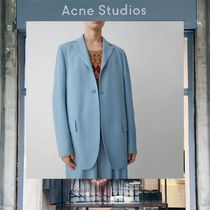 【18SS NEW】 Acne Studios_men / Afsan fluid cornflower blue/
