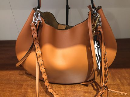 LOEWE トートバッグ ★ロエベ60%offセール♪Fortune hobo バッグ♪茶色