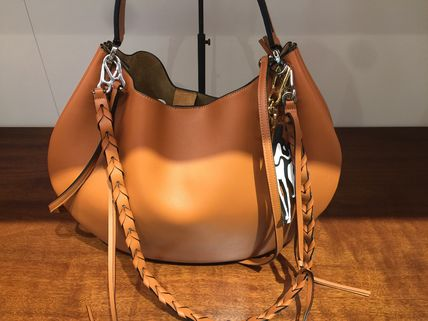 LOEWE トートバッグ ★ロエベ60%offセール♪Fortune hobo バッグ♪茶色(3)
