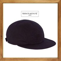 ★MAISON KITSUNE《BLACK FOX EMBROIDERY 5P CAP》送料込★