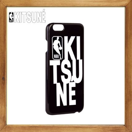 MAISON KITSUNE iPhone・スマホケース ★★ MAISON KITSUN ×NBA《 iPhone8 Case 》送料込み★★