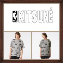 ★ MAISON KITSUN ×NBA《 ALL OVER T-SHIRT 》送料込★★