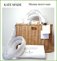 【Kate Spade】bloom street sam ★かごバック