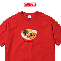 week1★SS18 Supreme Chicken Dinner Tee/Red/ Mサイズ