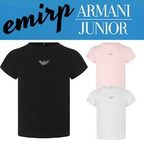 18SS☆ARMANI JUNIOR★BABYGIRLS★DIAMANTEロゴTシャツ